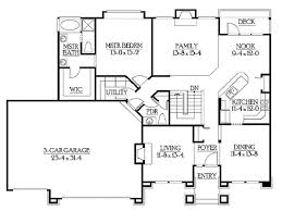 house plans with basements. Unique Ideas House Plans Rambler Open Floor 184 With Basements