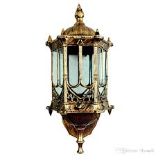 2019 bronze antique brass ip65 luxary american european outdoor sconce vintage classical waterproof wall light outdoor wall lamp wall lantern from flymall