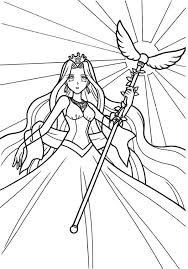 Small Picture Coloring pages mermaid melody picture 2