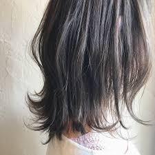黒髪ロングのヘアスタイル15選ストレートパーマ前髪ありなし