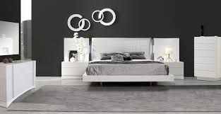 contemporary italian bedroom furniture. white lacquer bedroom set with crocodile leather upholstered headboard contemporary italian furniture