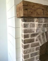 whitewashed fireplace brick room a whitewashed brick whitewashed brick fireplace living room