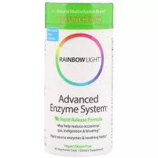 Rainbow Light, <b>Advanced Enzyme System</b>, <b>Rapid</b> Release Formula ...