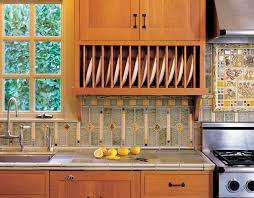 arts crafts kitchen backsplash