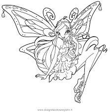 Disegno Bloomenchantix Personaggio Cartone Animato Da Colorare