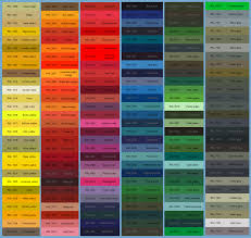 Powder Coating Colour Chart Uk Ral Paint Colour Chart For Polyester Powder Coating M M