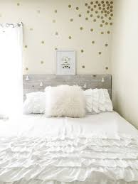 Gold Polka Dot Wall Confetti- easy way to add style to your space. These