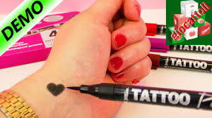 4 Penne Tattoo Per Tatuaggi Fai Da Te Dermatologicamente Testate
