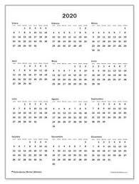 Calendario 2020 Mensile Giorno Scritto Abbreviato Tipo Lun Per