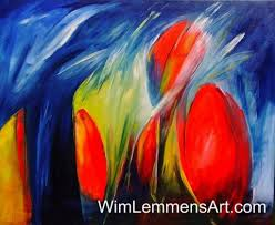 flowers bloom with amazing colors and lively birds nest in my trees making long journeys for amazing sceneries is a misconception modern abstract art