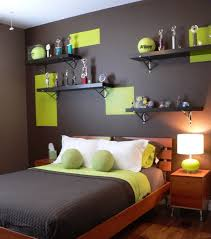 kids bedroom paint designs. contemporary boys\u0027 bedroom features an elegant color scheme view in gallery tennis ball green combined with chocolate makes a dashing palatte kids paint designs i