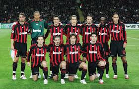 ac milan. ac milan reached three finals, a semi and quarter-final in amazing five years ac