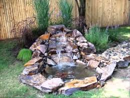 Small Picture Small Backyard Ponds And Waterfalls Home Decorating Ideas
