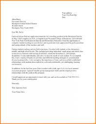 Cover Letter For Education Job Jobs Fresher Teacher Application