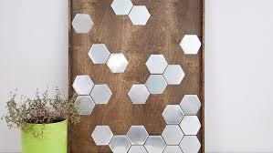 diy hexagon wall art ideas