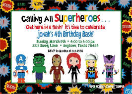 superheroes birthday party invitations superhero birthday party invitations card invitations ideas