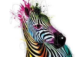 Patrice Murciano Zebra Fotobehang Behang Bestel Nu Op
