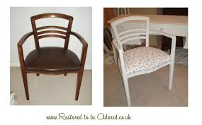 Shabby Chic Bedroom Chairs Uk Vintage Solid Oak Bedroom Chair In Cath Kidston Roses And Birds