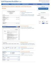 Resume Builder Online Free Download Excellent Buildesume Online Template Free Download Where Can I For 51