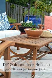 re outdoor teak furniture tutorial