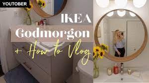 Ikea Godmorgon Bathroom Vanity Assembly Vlog How To Put Together The Ikea Godmorgon Vanity Youtube