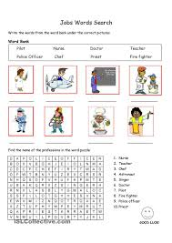 images about work english places and crossword