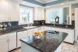 Blue Pearl Granite Kitchen Kitchen Richmond By Marva Marble Granite Inc Houzz