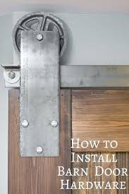 can you lock a barn door how to install sliding barn door hardware its no use