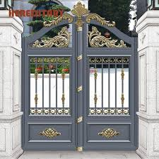 Gated entrance modern wood entry doors exterior architecture stone stylish houses gate modern modern house gate door designs remote gates gate modern house outdoor wall. China Modern House Entrance Main Aluminum Gate Designs Photos Pictures Made In China Com