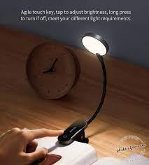 Đèn LED kẹp bàn Baseus Comfort Reading Mini Clip Lamp không dây cảm ứng -  Phụ kiện điện thoại, xe hơi, tiện ích thông minh BASEUS   Đại lý ủy quyền  chính thức