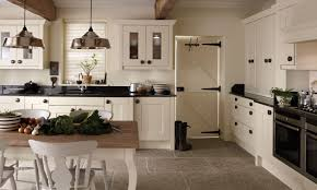 Kitchen Floors Uk Ivory Fitted Kitchens Traditional Contemporary Kitchens In Ivory