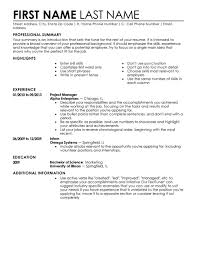 Livecareer Resume Template