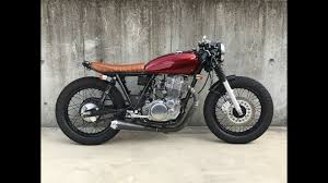 custom proceed yamaha sr cafe racer by flakes custom cycle youtube