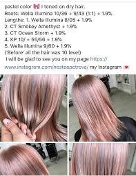 wella illumina color chart fresh wella pastel perfection by anastasia petrova ram