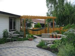 Magnificent Ideas Backyard Patio On A Budget Patios And Decks Stone Design