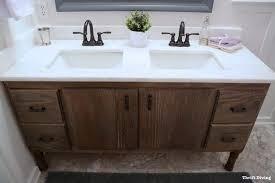 build bathroom vanity. Serena\u0027s 60-Inch DIY Bathroom Vanity Build