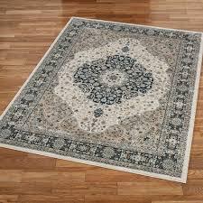 bevin medallion rectangle rug light taupe