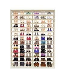 custom shoe storage closet