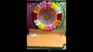 flower ganpati decoration v youtube