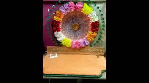 flower ganpati decoration v youtube