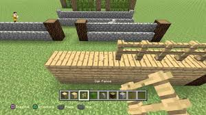 how to make a fence minecraft. How To Make A Fence Minecraft N
