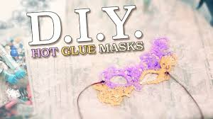 easy diy masquerade masks from hot glue glitter costume tutorials with damsels in diy