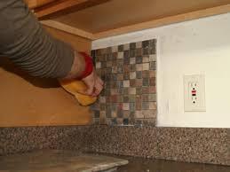 Beautiful Installing Kitchen Tile Backsplash
