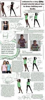 Shirt Folds Reference How To Draw Clothes Over Boobs By Aydengryphongirl On Deviantart