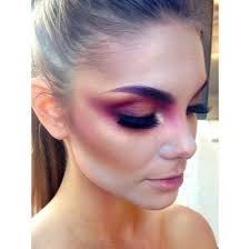 make up mac cosmetics make up tools hair makeup inspo colorful pastel shiny purple lavender blue aqua pink magenta cool edgy