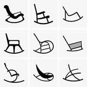 rocking chair clipart. Rocking Chairs Chair Clipart