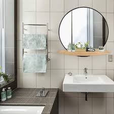 the mirror with shelf combo sleek and
