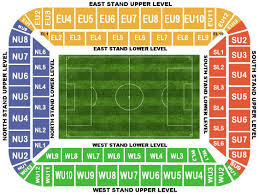 Uk Football Stadium Seating Chart Football League Ground Guide Swansea City Fc Liberty Stadium