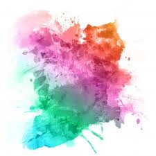 color background. Perfect Background Watercolour Splatter In Rainbow Colours To Color Background F