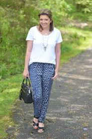 Patterned Joggers Mesmerizing Patterned Joggers By Lauren M